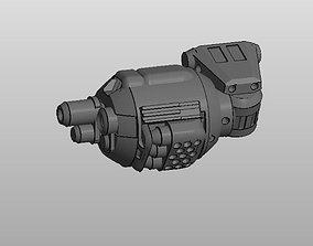 CHIBI-TECH SD - DED ARM-B 3D printable model
