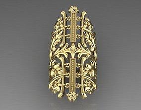 3D printable model Medieval ring design