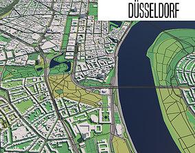 3D model Duesseldorf