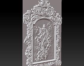 file Mirror frame 3d - CNC machine - 3D CNC