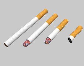 3D model realtime Cigarette pack