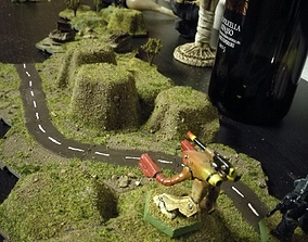 BattleHex Road set 01 3D printable model