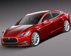 Tesla Model S 2013 3D