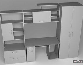 3D Cabinet Metallic