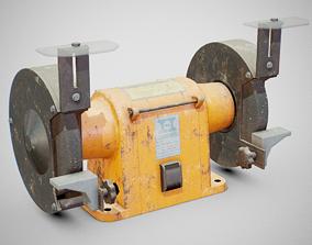 3D model Bench Grinder - Hanning E6Z2-061 Dirty