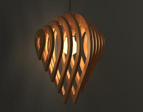 Water Drop Lamp 3D model