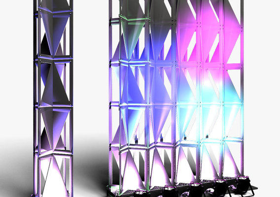 Stage Decor 25 Modular Wall Column