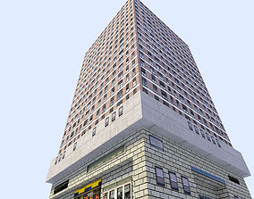 3D asset game-ready skyscraper