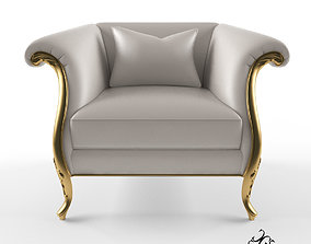3D model Christopher Guy Montaigne armchair