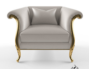 3D model Christopher Guy Montaigne armchair