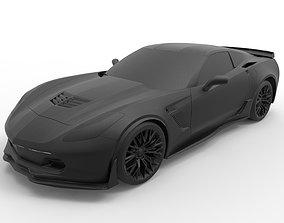 Chevrolet Corvette C7 Stingray Z06 3D printable model