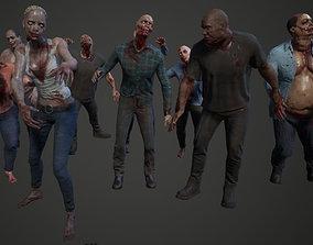 3D model Zombie Pack V2