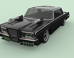 3D Green Hornet Black Beauty