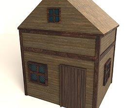 Western House 001 3D model VR / AR ready