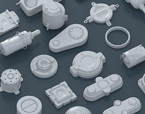 3D model sai fi spare parts