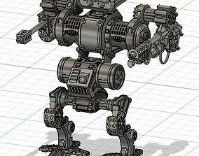 3D print model Armored robot mecha - Goliath