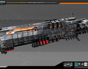 3D model Federation CargoShip F4