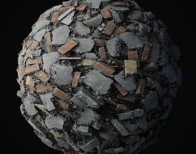 Debris Piles PBR seamless textures 4K 3D