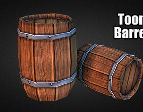 3D model Toon Barrel