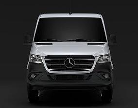 3D model Mercedes Benz Sprinter Panel Van L2H1 RWD 2020