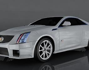 Cadillac CTS V 3D model game-ready