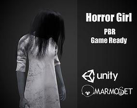 3D asset realtime Horror Girl