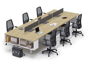 seating Office workspace UHURU part1 3D