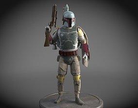 3D model Star Wars Bobba Fett