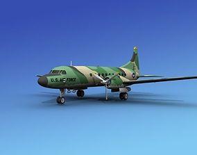 3D model Convair T-29 USAF V05