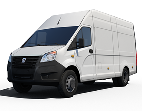 Gaz Next Van 3D model