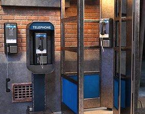 3D model Pay Phones