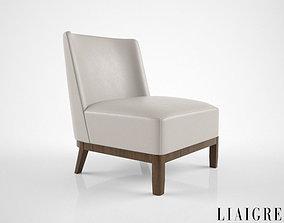 3D model suzerain Christian Liaigre Mandarin chair