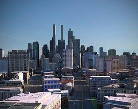 3D asset City 34