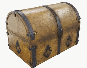 3D other Old chest 02