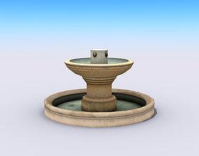 3D asset City Fountain
