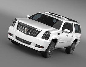 Cadillac Escalade Platinum ESV 2011 3D