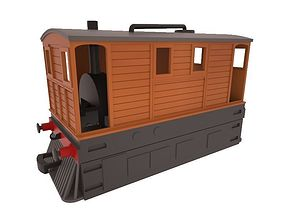 3D print model OO Scale LNER J70 GER C53 Tram Engine