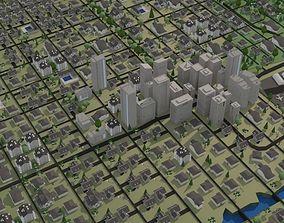Phoenix Arizona - City Center 3D asset