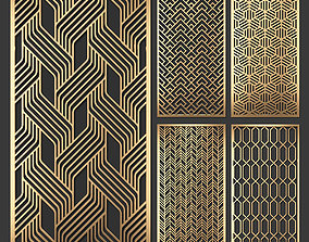 3D Decorative panel set 57