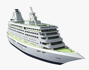 liner 3D model Cruise Ship