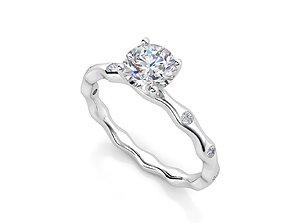 di 012 engagement-ring 3D printable model