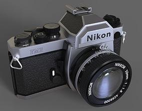 3D Nikon FM2