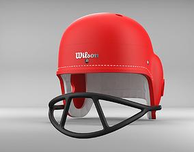 3D print model Vintage 1960s style Retro football Helmet