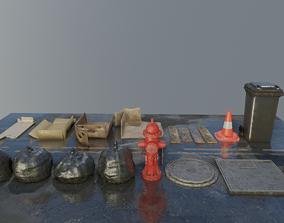 3D asset Street Collection