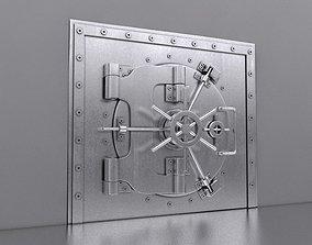 3D Bank Safe Vault