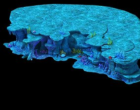 3D coral reef exterior