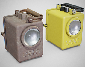 3D asset Lamp - Wonder Agral 1950s