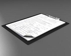 Folder note 3D