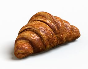 lunch Croissant 3D model