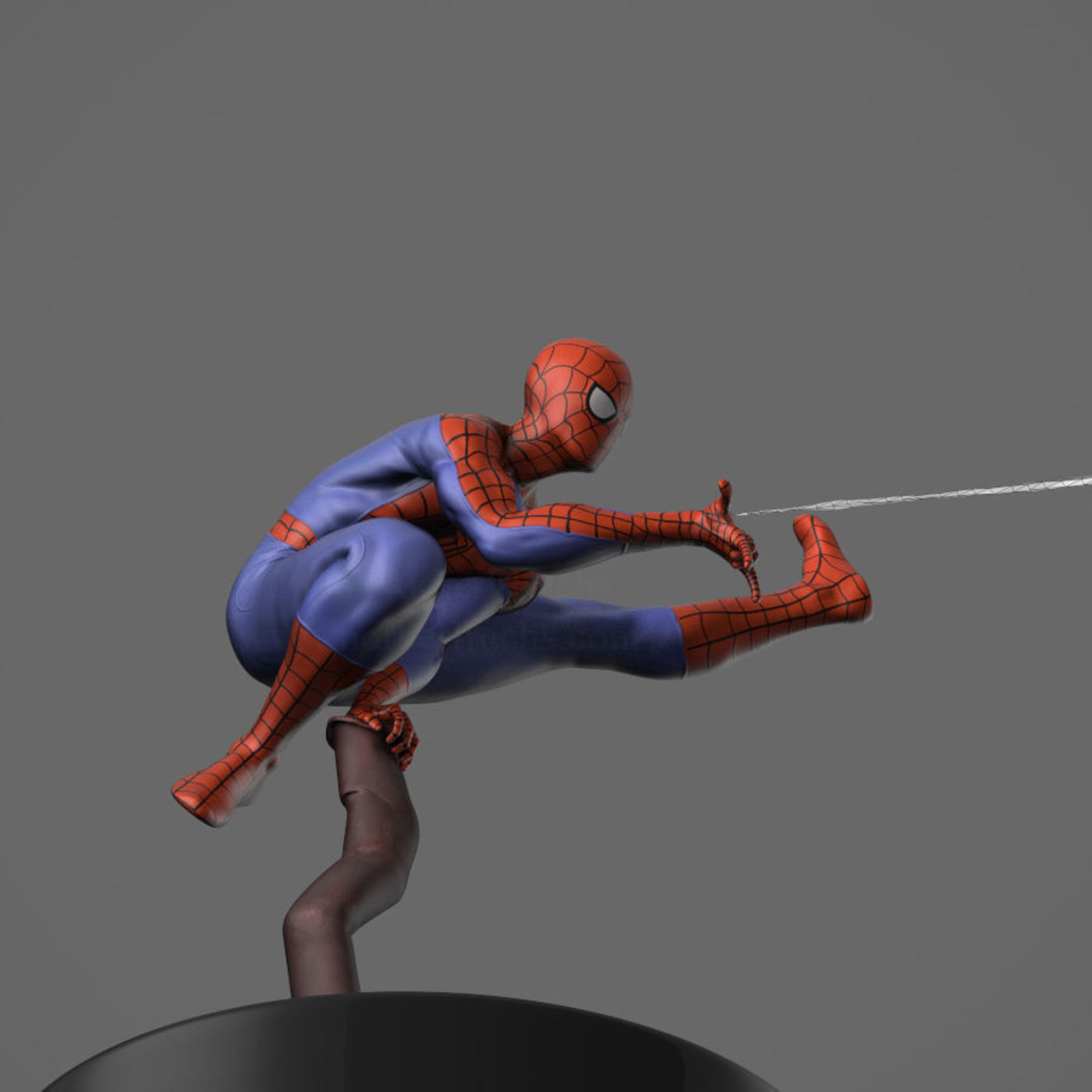 Spider-Man sculpt to be a collectible